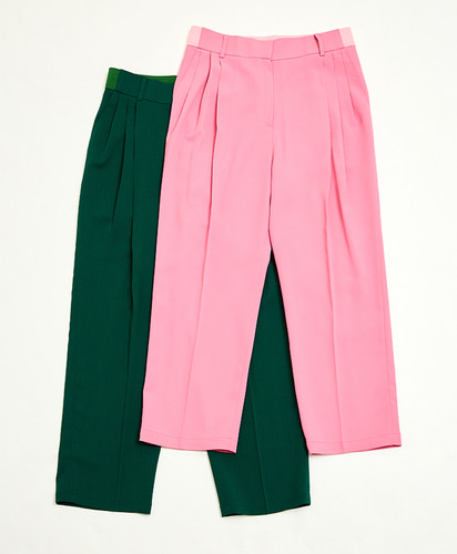 Easy fit pants_(GREEN)
